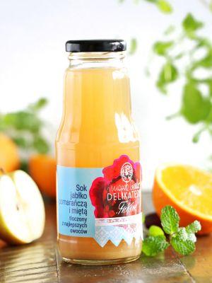 Sok jabłko-sycylijska pomarańcza-mięta 300ml